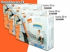Suelo radiante thermoequip th 10 ( hasta 10 m2 / 1080 w )
