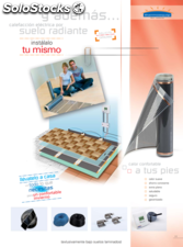 Suelo radiante thermoequip th 30 ( hasta 30 m2 / 3240 w )