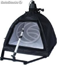 Suitcase portable photo studio focusing and tripod 50cm (EW64)