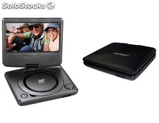 "Sunstech - DVD portatil dlp-M728 7""+soporte"