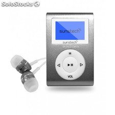 Sunstech - MP3 Dedalo ii 8Gb micro usb Reproductor de MP3 8GB Gris