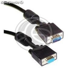 Super Cable vga UL2919 3C +4 (HD15-m/h) 1m (VS10)