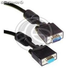 Super Cable vga UL2919 3C +9 (HD15-m/h) 1m (VS30)