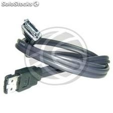 Super-eSATA data cable (2.0m) (DN34)