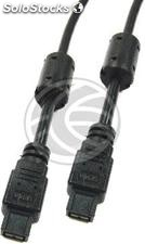 Super ieee 1394b FireWire 800 Cable (Beta/Beta) 3m (FU12)