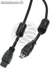 Super ieee 1394b FireWire 800 Cable (Bilingual/4-Pin) 1.8m (FU15)