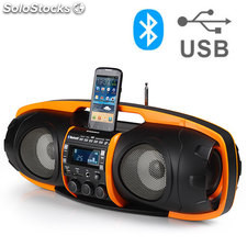 Super Rádio e Leitor MP3 com Bluetooth AudioSonic RD1549