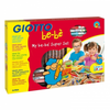 Super set giotto be-bé con 6 lapices, 1 sacapuntas maxi, 8
