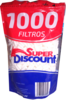 Superdiscount 1000 filtros 6mm
