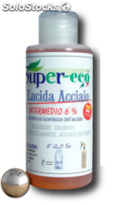 Supereco - glossy steel - 150 ml - equal to 2.5 lt
