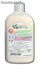Supereco - SUPER-ECO lave mains émollient Talc - 500 ml - égal à 2 lt