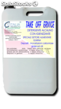 Supereco - take off 100 ervice - detergent for oil mills - 10 kg - equal to