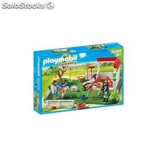 Superset Prado de Caballos Playmobil