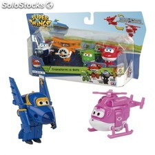 Superwings 4 figuras transformables - Color Baby