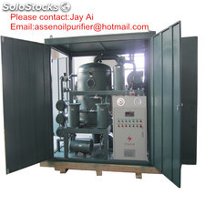 Supply Double stage Transformer Oil Purifier/Oil Purification Machine