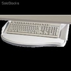 Support clavier coulissant gris - 97211