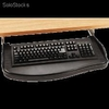 Support clavier coulissant noir - 97213