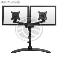 Support for desktop for 2 screen TV with stand model VESA 75 100 model ML1002