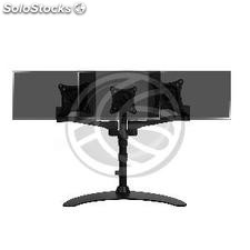 Support for desktop for 3 screen TV with stand VESA 75x75 100x100 (OS25)