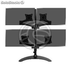 Support for desktop for 4 screen TV with stand model VESA 75 100 model ML1004