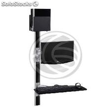 Support keyboard mouse computer screen wall with single arm (OM31)