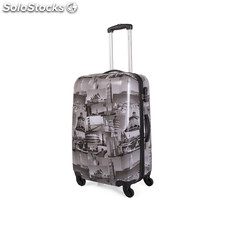 Support polycarbonate trolley 67960 Noir