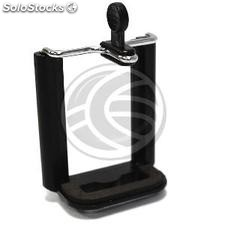 "Support smartphone 55mm-80mm Universal Tripod thread 1/4 "" (EV08)"