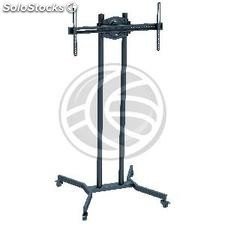 """Support stand with wheels and shelves for flat screen 32 \""""- 65\"""" (OM01-0002)"""