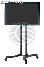 "Support stand with wheels to screen 32"" to 56\"" (PLAB-1032) (OH02)"