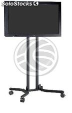 "Support stand with wheels to screen 32"" to 56\"" (PLAB-1033) (OH03)"