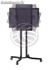 "Support stand with wheels to screen 32"" to 56\"" (PLAB-1034) (OH04)"