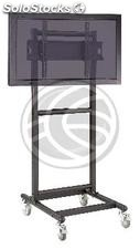 """Support stand with wheels to screen 32\"""" to 56\"""" (PLAB-1036) (OH06)"""
