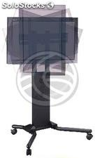 """Support stand with wheels to screen 32\"""" to 56\"""" (PLAB-104 (OH07)"""