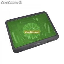 supporto base per notebook ventilata verde 45045