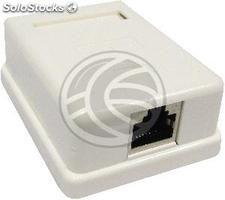 Surface Box 1 RJ45 Cat.5e ftp (RI34-0002)