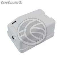 Surface Box 1 RJ45 Cat.6 ftp (RI44)