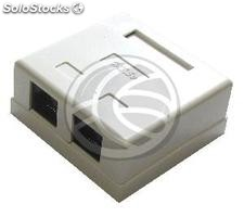 Surface box 2-RJ45 utp Cat.5e (RI32)