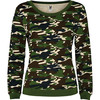 Sweat-shirt Femme camouflage forêt nature street collection