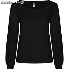 Sweat-shirt Femme noir casual collection invierno