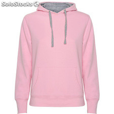 Sweat-shirt Femme rose claire/gris vigore casual collection invierno