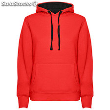 Sweat-shirt Femme rouge/noir casual collection invierno