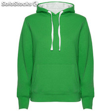 Sweat-shirt Femme vert kelly/blanc casual collection invierno