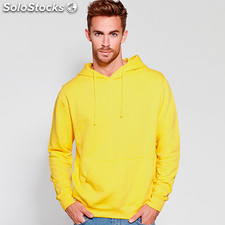 Sweat-shirt Hombre capucha amarelo. t: s casual collection invierno
