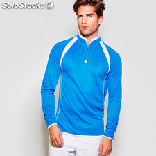 Sweat-shirt Hombre seul royal/blanco. t: l sport collection