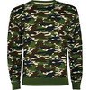 Sweat-shirt Homme camouflage forêt nature street collection