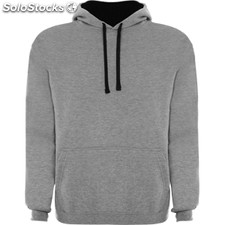 Sweat-shirt Homme gris vigoré/noir casual collection invierno