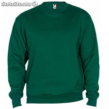 Sweat-shirt Homme vert bouteille casual collection invierno