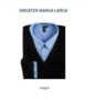 Sweater Hombre - Manga Larga - Color Negro