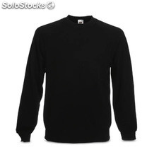 Sweatshirt Raglan Black 7-8