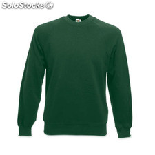 Sweatshirt Raglan Green M
